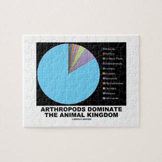 Los artrópodos dominan el reino animal puzzle