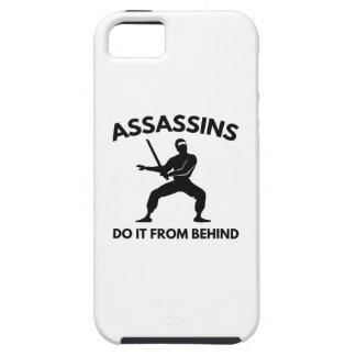 Los asesinos lo hacen de detrás funda para iPhone SE/5/5s