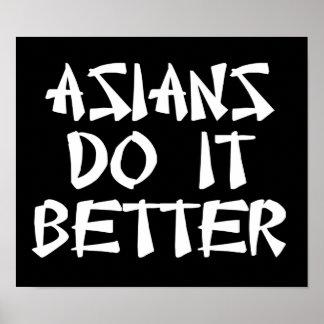 Los asiáticos mejora poster