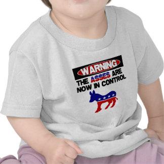 ¡Los asnos ahora están en control Camiseta