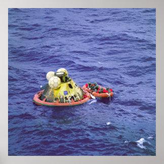 Los astronautas de Apolo 11 vuelven a casa Póster