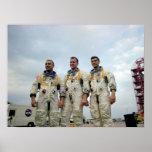 Los astronautas de Apolo 1 Impresiones