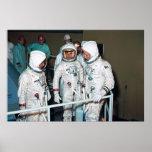 Los astronautas de Apolo 1 Poster