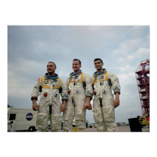 Los astronautas de Apolo 1 Póster