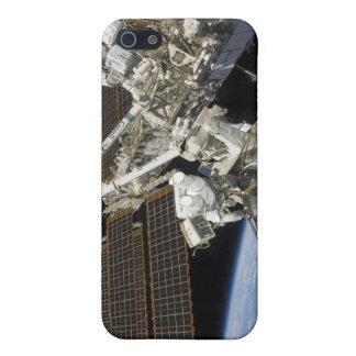 Los astronautas realizan una serie de tareas iPhone 5 funda