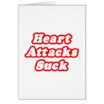 Los ataques del corazón chupan felicitación