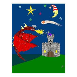 Los ataques del dragón tarjetas postales