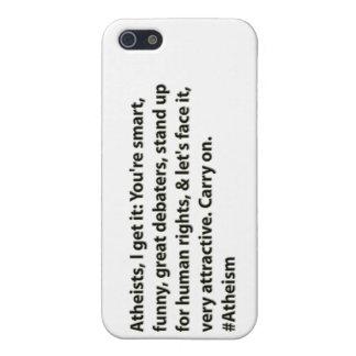 Los ateos de los #Atheists, lo consigo: iPhone 5 Carcasas