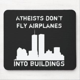 Los ateos no vuelan los aeroplanos en edificios tapete de raton