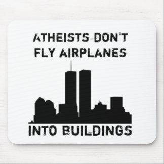 Los ateos no vuelan los aeroplanos en edificios tapetes de raton
