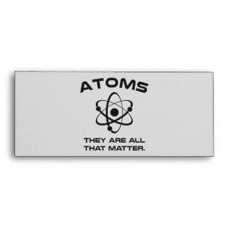 Los átomos son todos que importan