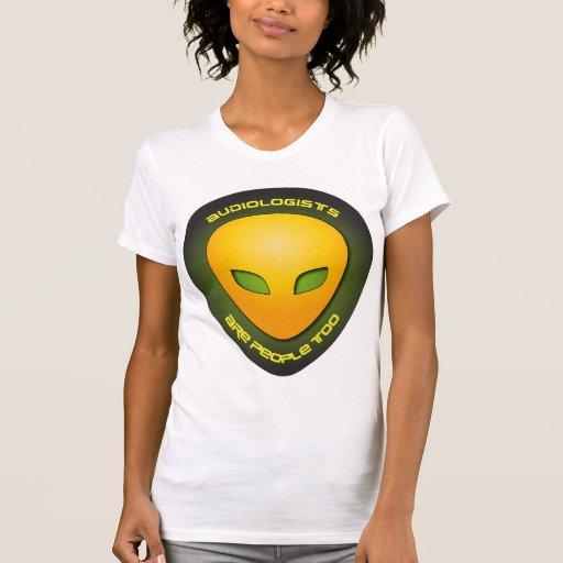 Los audiólogos son gente también camisetas