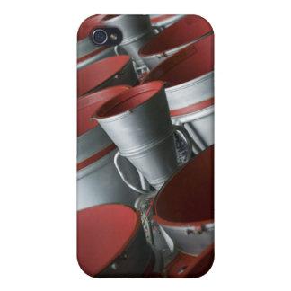 Los aumentadores de presión de la nave espacial 3 iPhone 4 carcasas