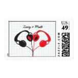 Los auriculares del inconformista (rojos/negro) sello