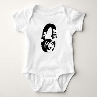 Los auriculares DJ de una pieza del bebé contienen Poleras