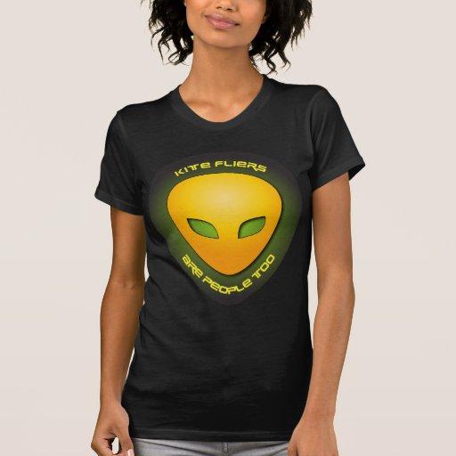 Los aviadores de la cometa son gente también camisetas