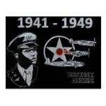 Los aviadores de Tuskegee Tarjeta Postal
