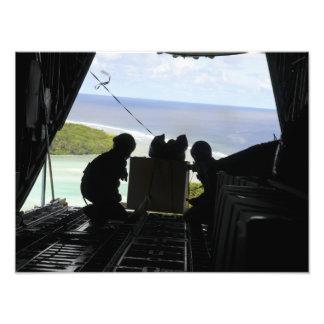 Los aviadores eliminan una plataforma de las cojinete