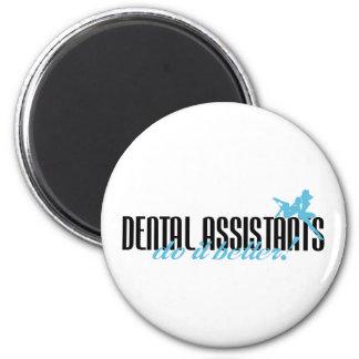 ¡Los ayudantes de dentista mejora! Imanes De Nevera