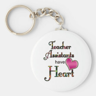 Los ayudantes del profesor tienen corazón llavero