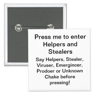 Los ayudantes y los Stealers entran en el botón Pins