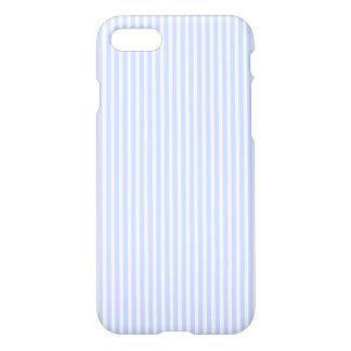 Los azules cielos blandos palidecen la raya del funda para iPhone 7
