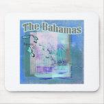 Los azules de Bahama Alfombrillas De Ratón