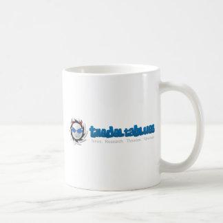 Los azules del delta taza de café