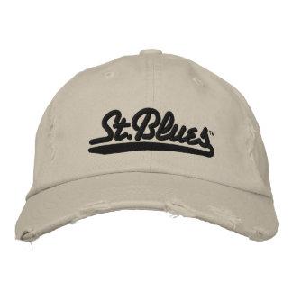 Los azules del St bordaron el casquillo apenado Gorro Bordado