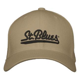 Los azules del St bordaron el casquillo de las lan Gorras Bordadas