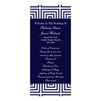 Los azules marinos anclan programas náuticos del b diseño de tarjeta publicitaria