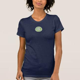 Los azules marinos L camiseta de las mujeres