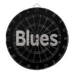Los azules redactan la música gris design.png tablero dardos