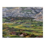 Los badlands coloridos de la colina del dólar postales