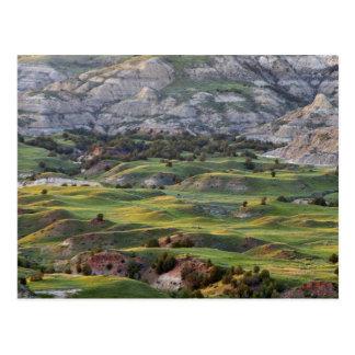 Los badlands coloridos de la colina del dólar postal