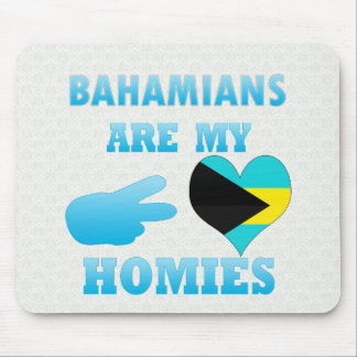 Los Bahamians son mi Homies Tapetes De Ratón