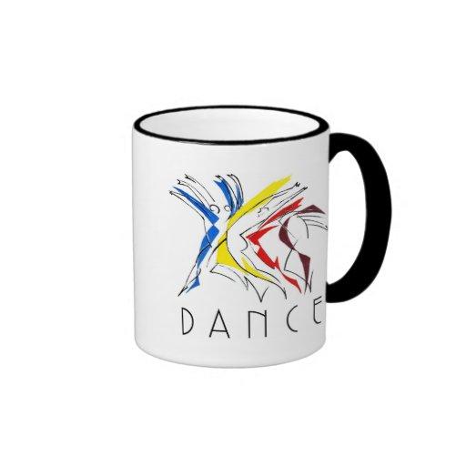 Los bailarines abstractos - consiguió bailar taza a dos colores