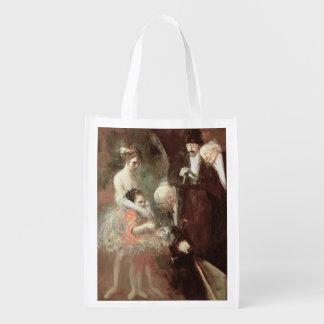 Los bailarines, c.1925 (aceite en lona) bolsa para la compra