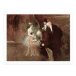 Los bailarines, c.1925 (aceite en lona) tarjetas postales