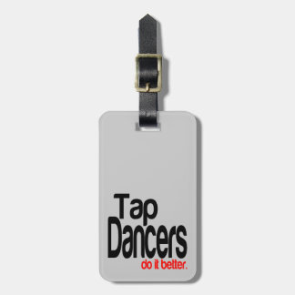 Los bailarines de golpecito mejora etiquetas bolsa