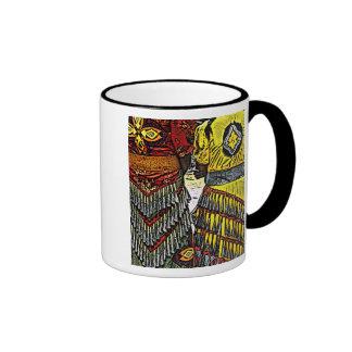 Los bailarines del tintineo alistan la taza del te