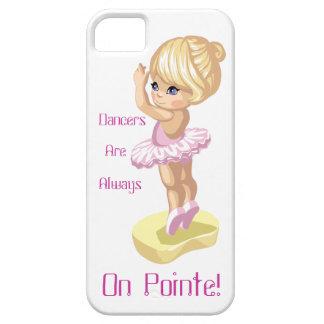¡Los bailarines están siempre en Pointe! caso del iPhone 5 Funda