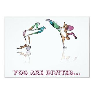 los bailarines galleta, le de la invitación