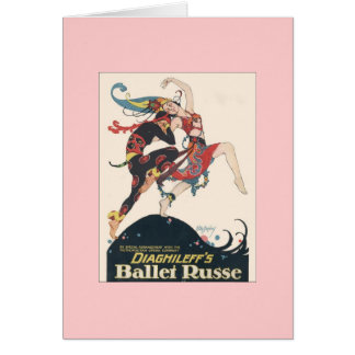 Los ballets Russes de Diaghilev Tarjeta Pequeña