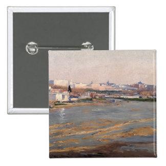 Los bancos del río Manzanares 1912 aceite en el Pin