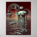 Los bañistas posters