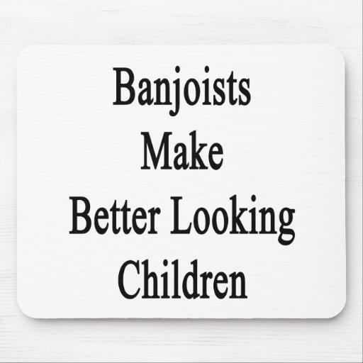 Los Banjoists hacen a niños más apuestos Tapetes De Raton