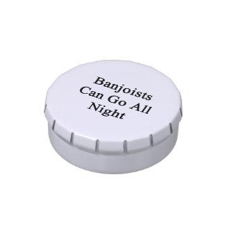 Los Banjoists pueden ir toda la noche