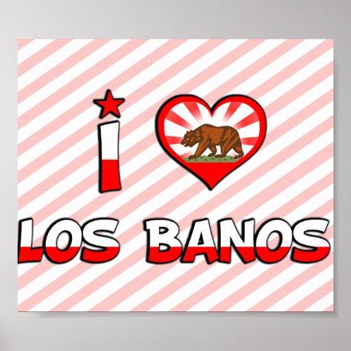 Los Banos, CA Poster