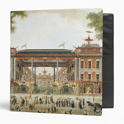 Los baños chinos en París, establecida por Lenoir